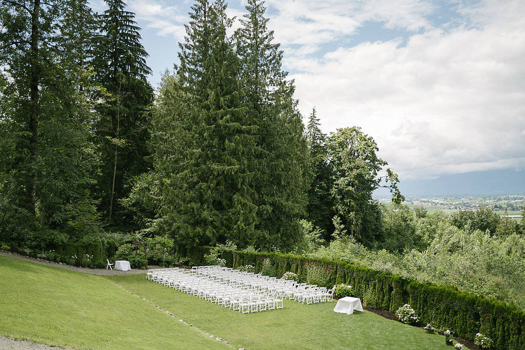The grounds at The Falls Golf Course, reading for wedding guests to arrive. This year, plated service, early closing times and more intimate weddings will replace some traditional wedding customs. Leanne Sims Photography