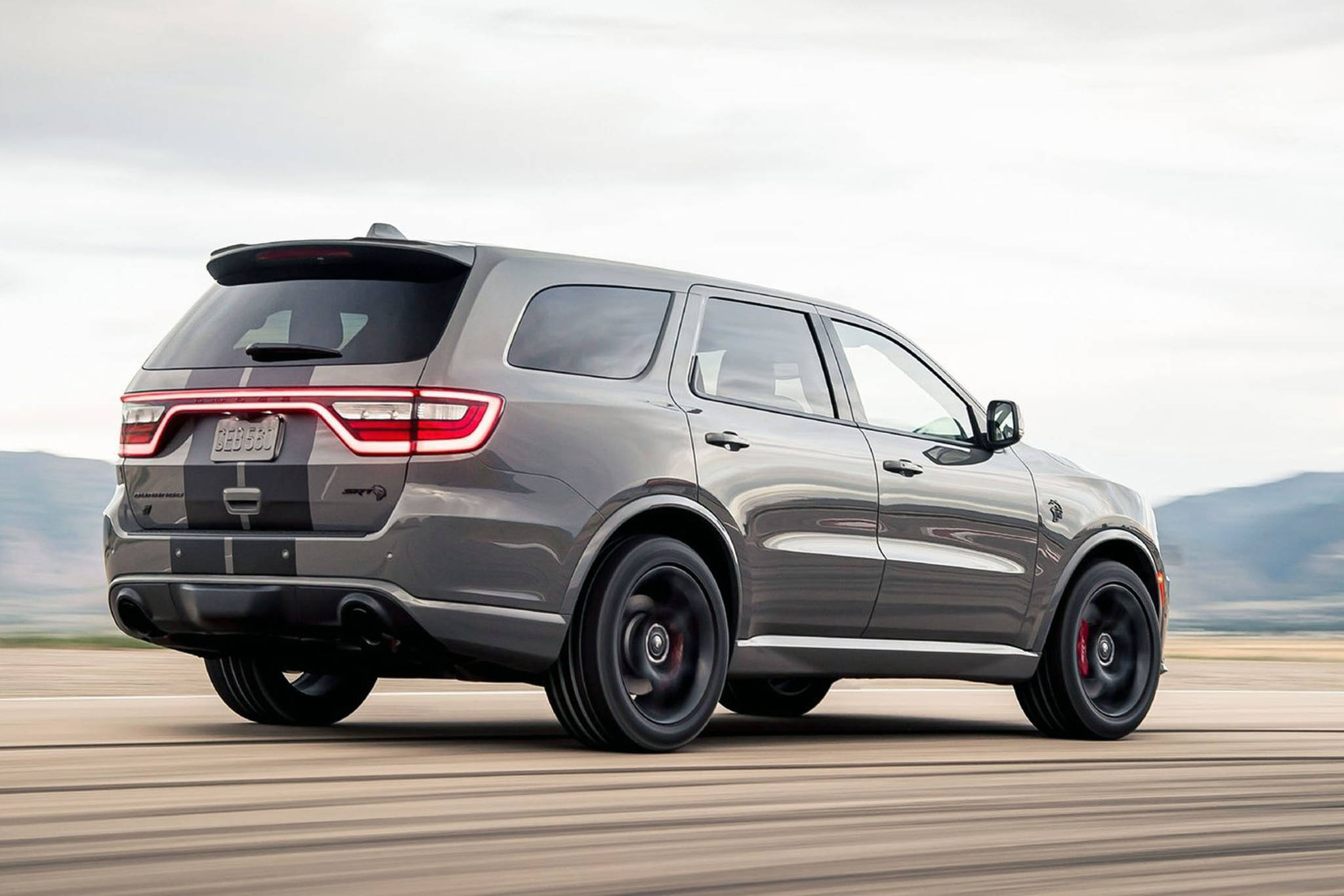 The current-generation Durango uses the Jeep Grand Cherokee platform and dates back to the 2011 model year, but since then has received regular updates both inside and out. PHOTO: DODGE
